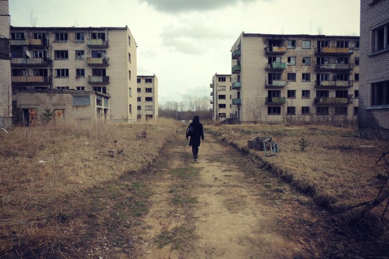Ekskursija uz pamesto miltāro pilsētiņu - Skrunda-1