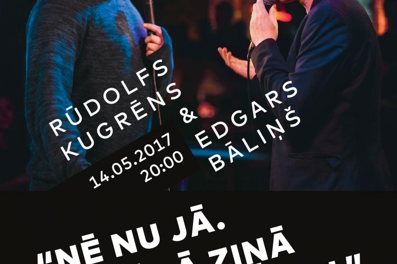 Rūdolfa Kugrēna un Edgara Bāliņa soloizrāde