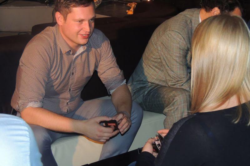 Biznesa kontaktu veidošanas vakars - tīklošana