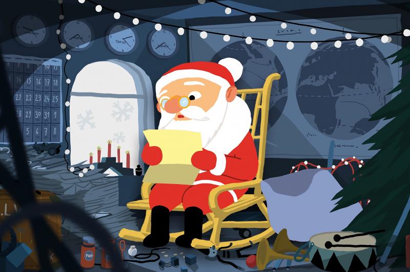 Īpašais Ziemassvētku seanss (bērnu rīti)
