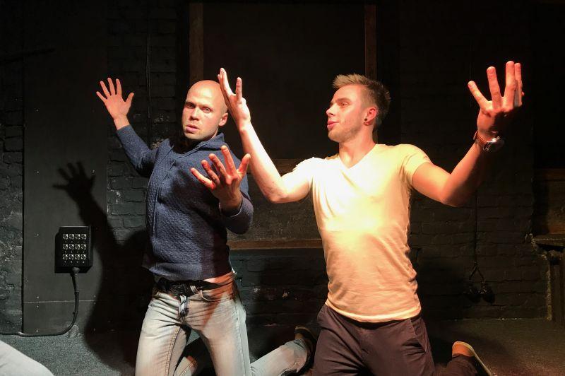 Improvizācijas teātris TRUMPIS 18#1