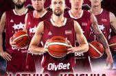 Basketbola valstsvienību spēle Latvija - Krievija