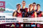 Seko Latvijas U18 izlasei. FIBA U18 Eiropas čempionāts basketbolā.