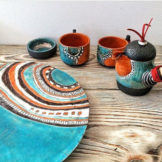 Māla trauku izgatavošana un apgleznošana ar tālo kultūru ornamentiem (4. nodarbība)