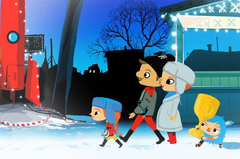 Bize un Neguļa + Lupatiņi (Bērnu rīti Ziemassvētki)