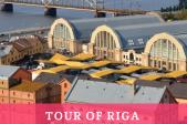 Ekskursija pa Rīgas Centrāltirgu