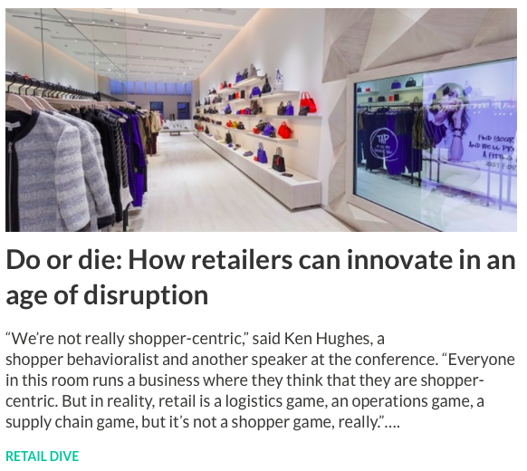 Retail Rewired: A Masterclass in Retail & Consumer Culture and the Strategic Implications