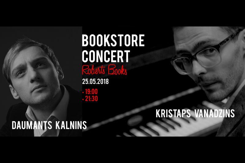 Kristaps Vanadzinš & Daumants Kalniņš Bookstore Concert