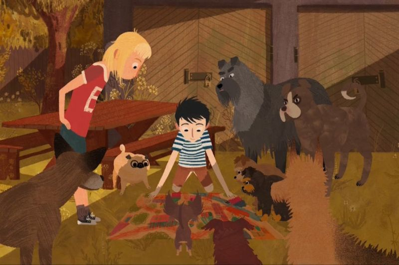 Jēkabs, Mimmi un runājošie suņi