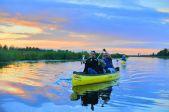 Svētdienas vakara laivu brauciens Ozolnieki - Jelgava | 25 €/laiva*