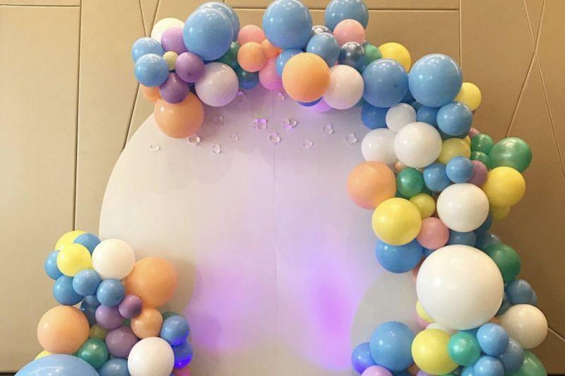 Декор из шаров на праздники, свадьбы, вечеринки