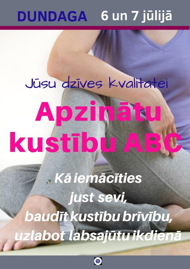 APZINĀTO KUSTĪBU ABC DUNDAGĀ:   IEGURŅA DIAFRAGMAS SPĒKS