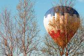 Lidojums gaisa balonā.