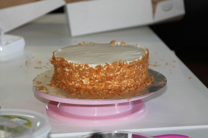 Meistarklase - Napoleona kūkas pagatavošana