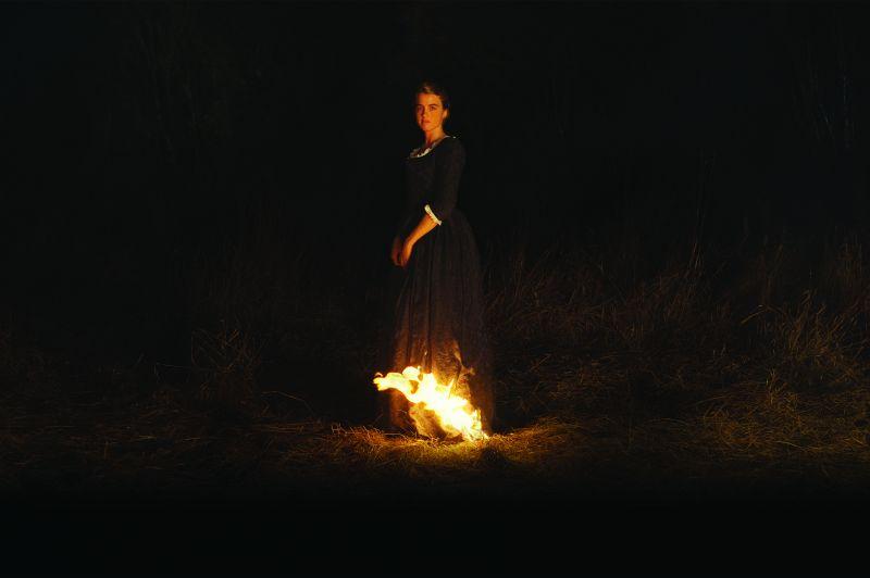 Lēdijas portrets ugunī