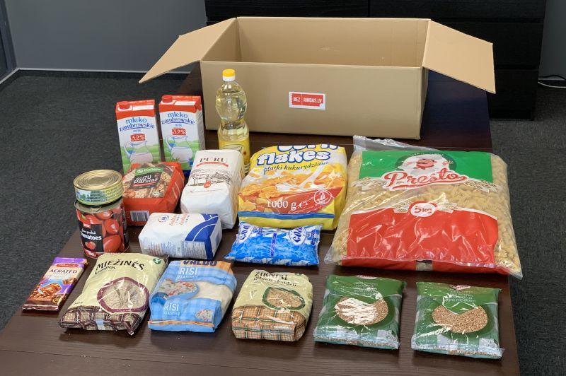 Karantīnas pārtikas paka (piegāde uz DPD paku skapi)