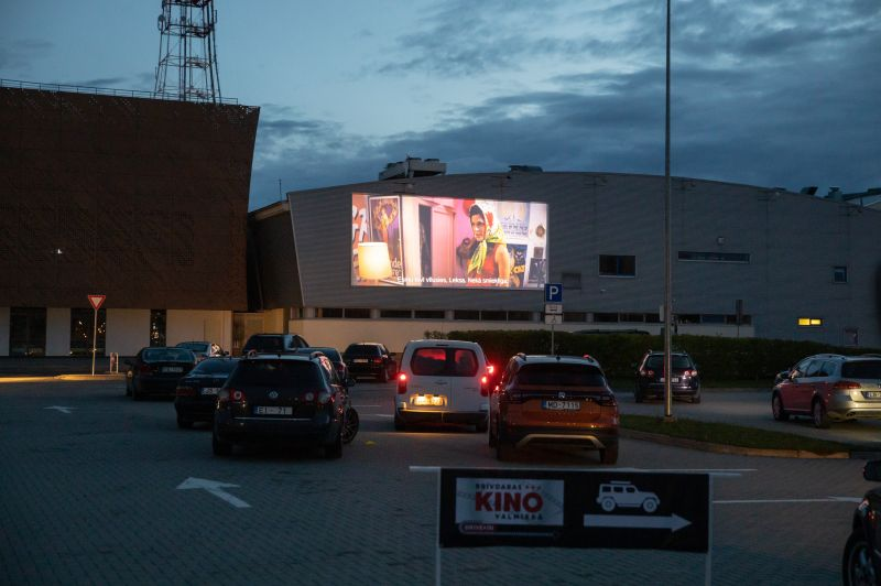 """Drive-in"" kino  Valmierā, 23.maijs, ""Tici mīlestībai"""