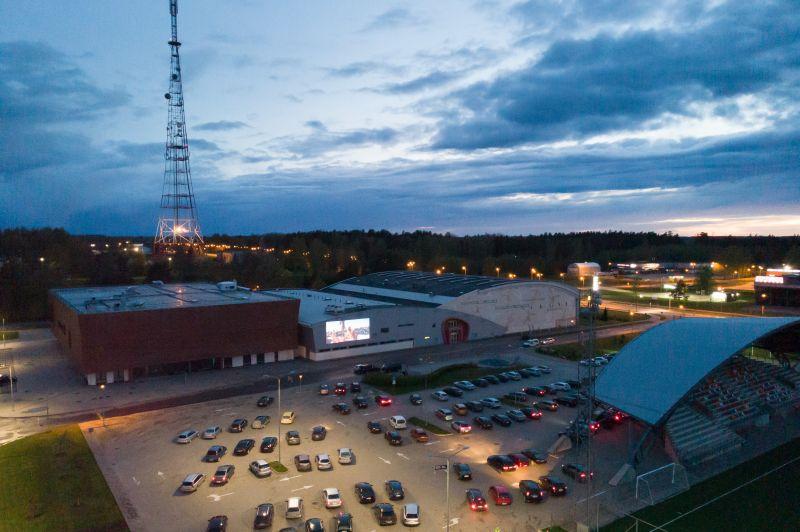 """Drive-in"" kino  Valmierā, 29.maijs,"