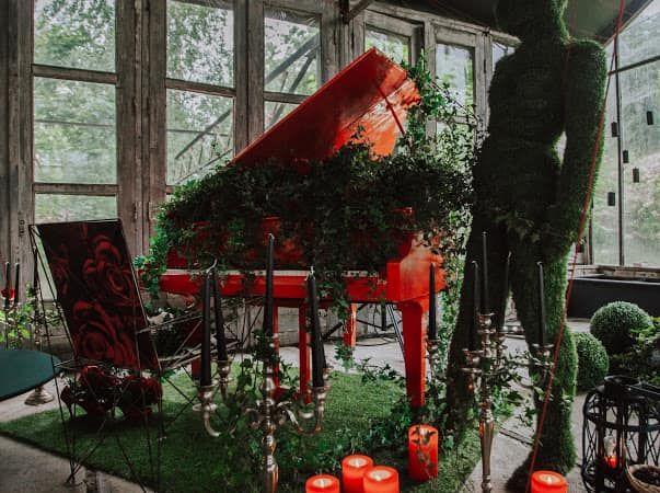 Koncertintervijas Spices vasaras dārzā