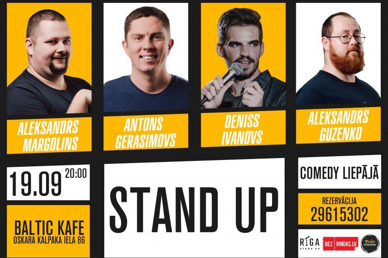 Stand Up Comedy Liepājā