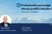Inga Daliba. Profesionāls personīgā zīmola profils LinkedIn-ā