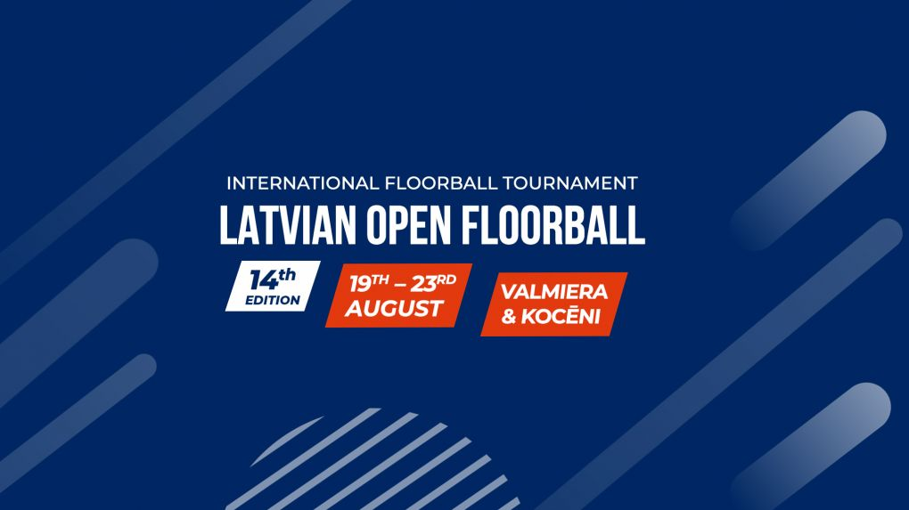 """Florbola turnīrs """"Latvian Open"""" 21. - 23. Augusts"""