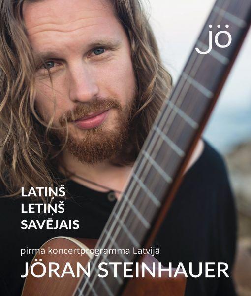 29. martā notiks Jörana Steinhauera koncerts